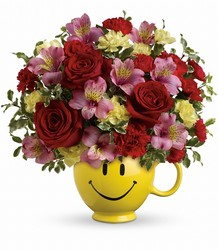 So Happy You're Mine Bouquet by Teleflora from Swindler and Sons Florists in Wilmington, OH
